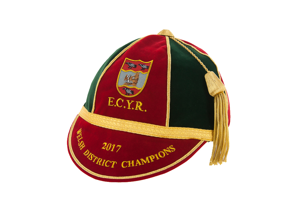 Example of a rugby honours cap for wales