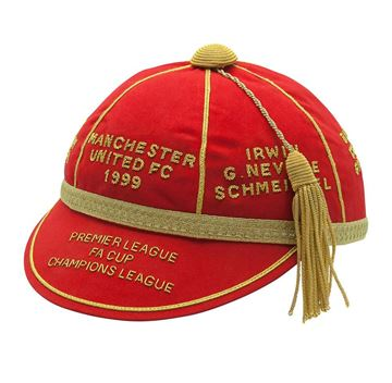 Picture of Manchester United FC 1999 Treble Commemorative Honours Cap