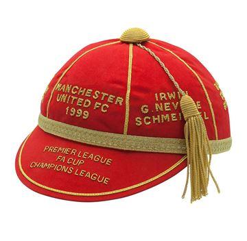 Picture of Manchester United FC 1999 Treble Commemorative Honours Cap