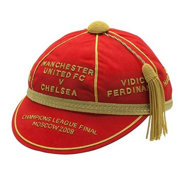 Picture of Manchester United FC v Chelsea 2008 Champions League Commemerative Honours Cap