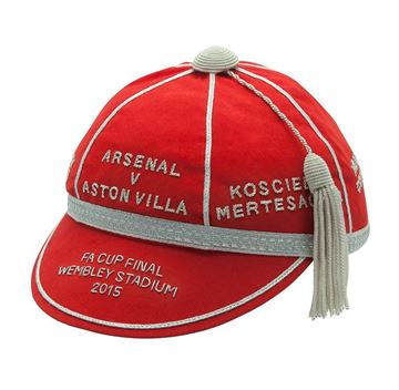 Picture of Arsenal v Aston villa 2015 FA Cup Commemorative Honours Cap