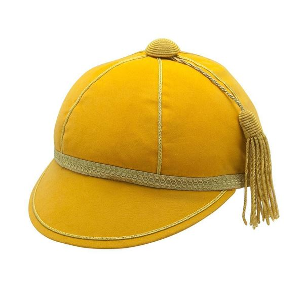 Picture of Honours Cap Dark Gold With Gold Trim