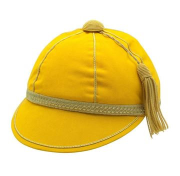 Picture of Honours Cap Light Gold With Gold Trim