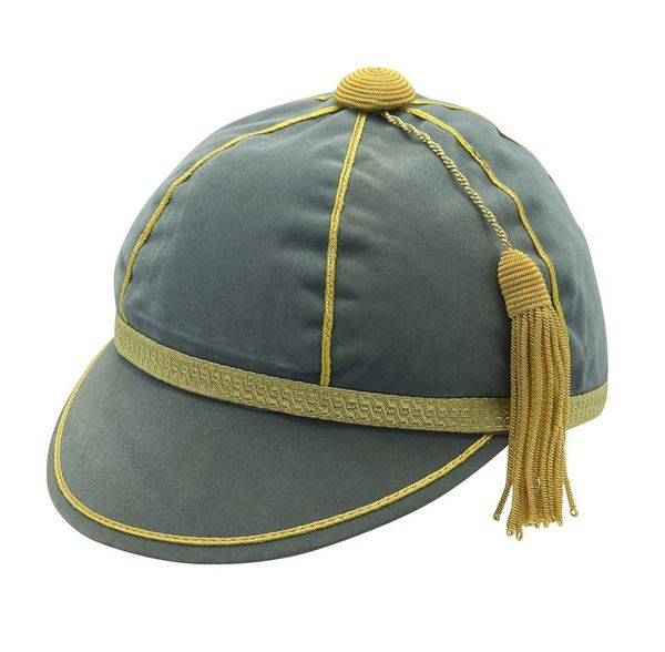 Picture of Honours Cap Cool Grey With Gold Trim