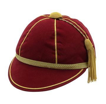 Picture of Honours Cap Wine with Gold Trim