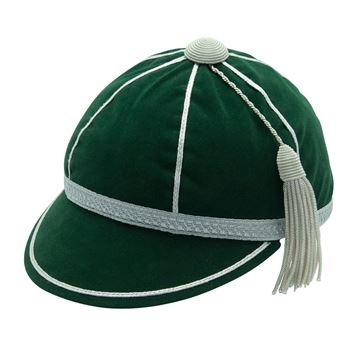Picture of Honours Cap Bottle Green With Silver Trim