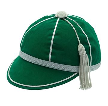 Picture of Honours Cap Dark Emerald With Silver Trim