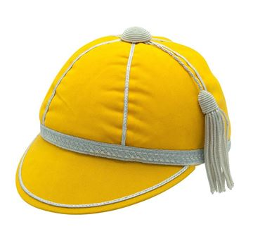 Picture of Honours Cap Light Gold With Silver Trim