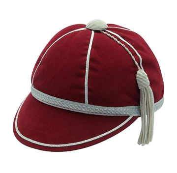 Picture of Honours Cap Wine With Silver Trim