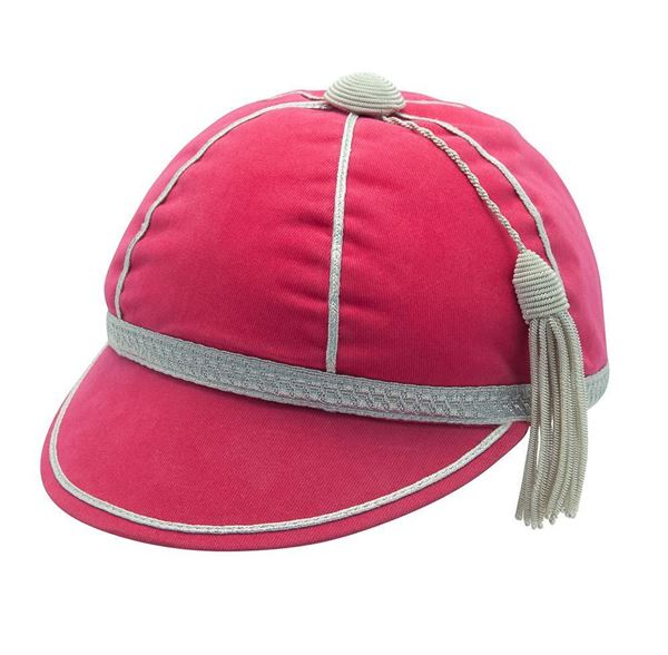 Picture of Honours Cap Cerise Pink With Silver Trim