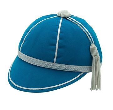 Picture of Honours Cap Pale Blue With Silver Trim