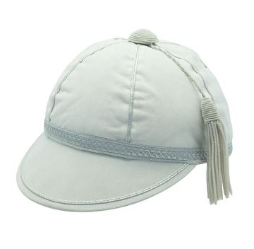 Picture of Honours Cap White With Silver Trim