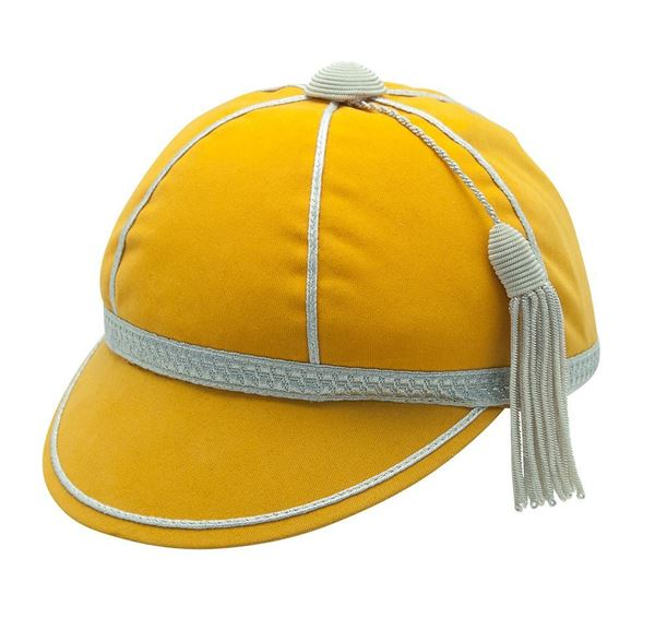 Picture of Honours Cap Dark Gold With Silver Trim
