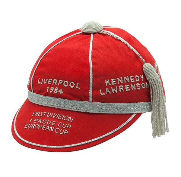 Picture of Liverpool 1984 Treble Commemorative Honours Cap