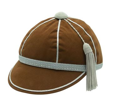 Picture of Honours Cap Brown With Silver Trim