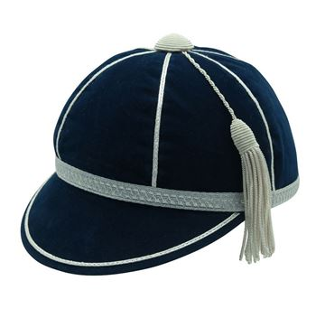 Picture of Honours Cap Navy With Silver Trim