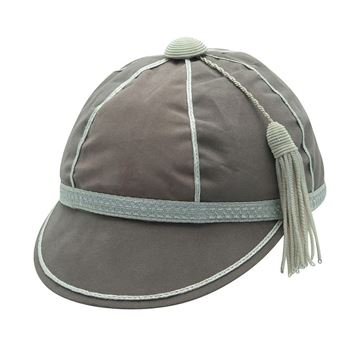 Picture of Honours Cap Warm Grey With Silver Trim