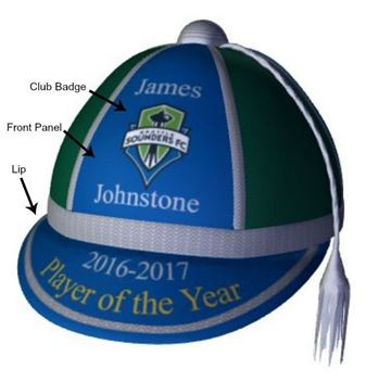 Picture of Personalised Player of the Year Presentation Cap