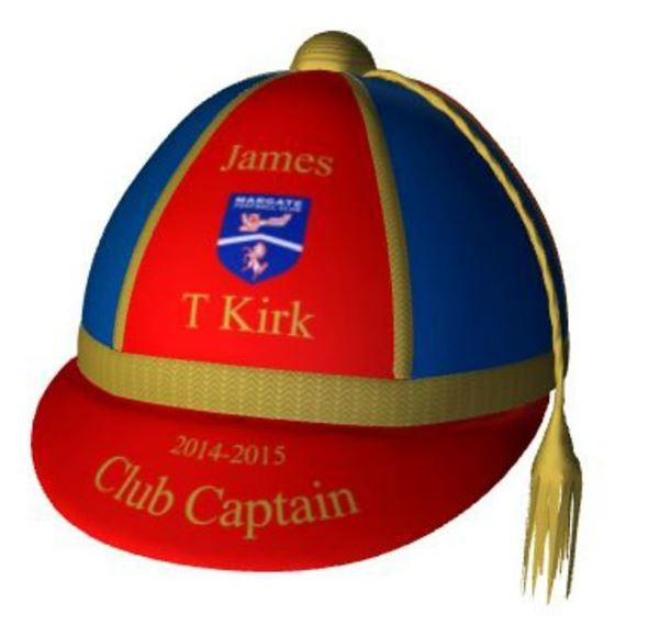 Picture of Personalised Club Captain Presentation Cap