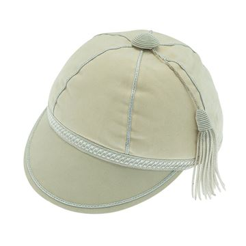 Picture of Honours Cap Cream With Silver Trim