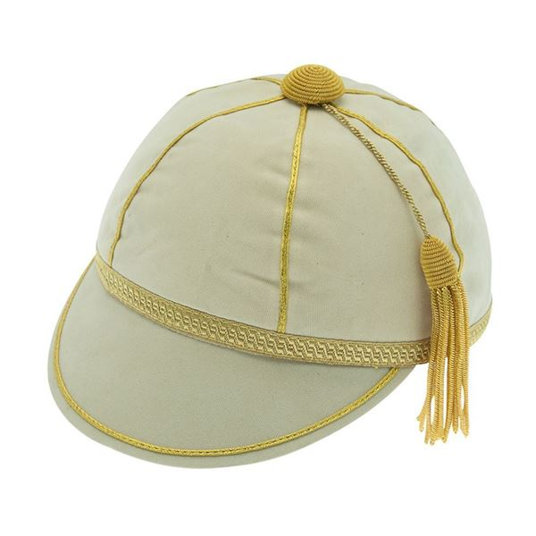 Picture of Honours Cap Cream With Gold Trim