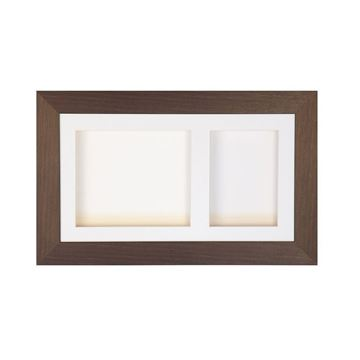 Double Aperture Antique Frame