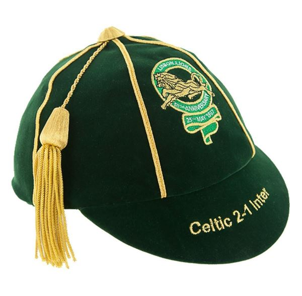 Picture of The Lisbon Lions 50th Anniversary Commemorative Honours Cap