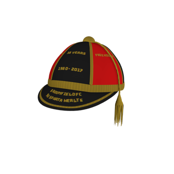 Picture of Honour Caps Honour Cap - 5 Part Trim Two Colour 