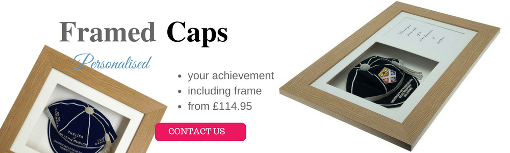 framed caps